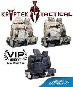 Hyundai Genesis Kryptek Ballistic Molle Tactical Custom Seat Covers