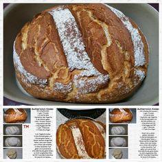 Buttermilch Brot ♡ wunderbar fluffiges mildes Brot,   geeignet für jeden Belag,   ob zum Frühstück oder Abendessen,   das schmeckt wirklich immer. ...