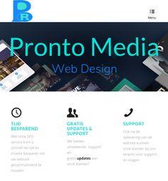 Pronto Media Webdesign