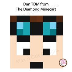 Minecraft Dan TDM Printable Box Head