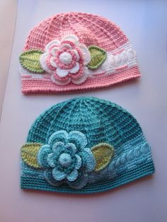 Crochet Girls Turqouise