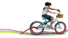 Chalktrail Bike Attachment Draws Colorful Lines While You Ride