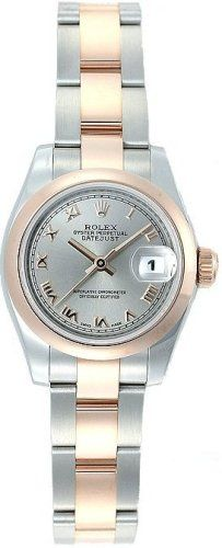 #RolexDatejust Ladies Steel 18K Rose Gold Watch 179161 $7595.00 On Sale