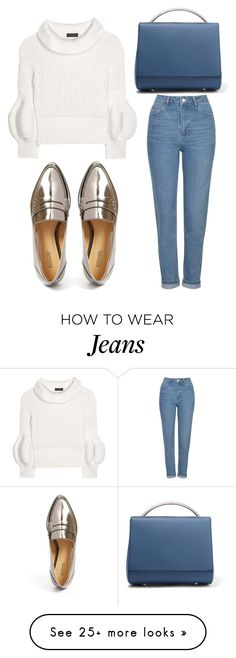 """""""Untitled #3428"""" by evalentina92 on Polyvore featuring Burberry, Topshop, MICHAEL Michael Kors and Eddie Borgo"""