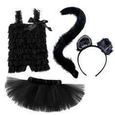 Toddler Halloween cat costume