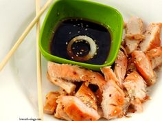 Fast Grilled Chicken with Thai Dipping Sauce  (phase 1, induction) - works for a meal or for a snack  - dipping sauce is handy to keep around, makes a great  dipping sauce for chicken, pork, beef, steamed vegetables