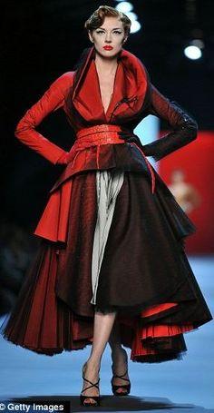 DIOR Haute Couture  beautiful full skirted coat/dress