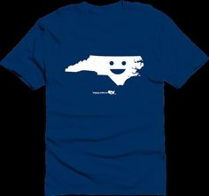 Happy State Co. North Carolina Happy State Tshirt by HappyStateco, $20.00