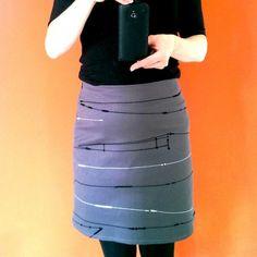 Urban Reflex Skirt by s.wert, http://www.s-wert-design.de
