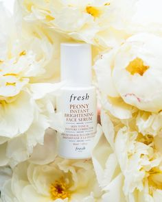 Skin Serum, Face Serum, Fresh Shop, Beauty Hacks, Beauty Tips, Peony, New Product, Sephora, Perfume Bottles