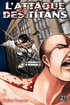Couverture L'attaque des Titans, tome 02