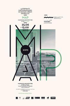 map mav poster by Les produits de l'épicerie