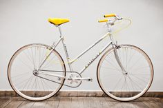 Gazelle Tour de France Lady (size M, body height cm 160-175) how to pimp your ride # love the yellow