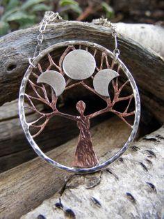 Tree Goddess necklace.  <3