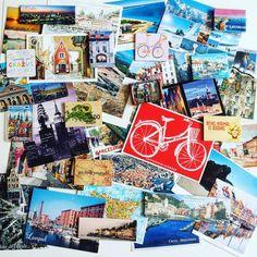 My travel postcards collection! :) #tallinn #spain #santasusanna #bellagio #italy #urland #finland #stockholm #kopenhagen #liverpool #newyork #gotenburg #festos #riga #bremen #paris #luxembourg #padova #barcelona #liepaja #rhodos #dubrovnik #hersonissos #crete #fuerteventura #sicilia #cinqueterre #belgium #koln