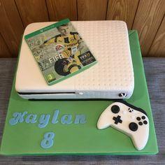 Xbox one birthday cake favorite recipes pinterest for Decoration xbox one