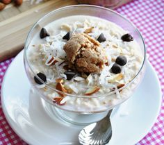 Almond Joy Oatmeal. Wow!