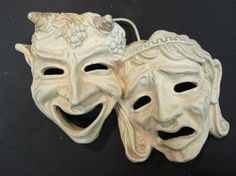theatrical masks | Greek Theater Masks | Mask Design Site