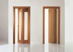 puertas pivot plegable