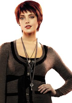 We're looking forward to seeing Ashley Greene play the eternally stylish Alice Cullen again in Breaking Dawn: Part Here's a look back at some of her best Alice Cullen, Alice Twilight, Die Twilight Saga, Jasper Twilight, Nikki Reed, Kristen Stewart, Short Hair Cuts, Short Hair Styles, Alice And Jasper