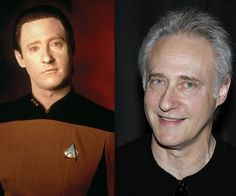 Then and Now #startrek #startrekthenextgeneration #tng #ussenterprised #1701D #data