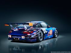 Photograph Flying Lizard Motorsports Porsche 911 GT3 RSR by Sean Klingelhoefer on 500px