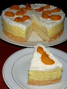 Myslíme si, že by sa vám mohli páčiť tieto piny - sbel Chesse Cake Recipe, Slovakian Food, Sweet Recipes, Cake Recipes, Kolaci I Torte, Homemade Pastries, Czech Recipes, Food 52, Desert Recipes