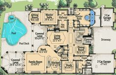 Living in Grandeur - 31807DN | European, French Country, Mediterranean, Luxury, Photo Gallery, Premium Collection, 1st Floor Master Suite, Bonus Room, Butler Walk-in Pantry, CAD Available, Den-Office-Library-Study, Elevator, MBR Sitting Area, Media-Game-Home Theater, PDF | Architectural Designs