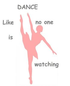 Dance ballet poster home room decor poster PERSONALIZED FREE inspirational