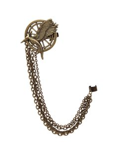 The Hunger Games: Catching Fire Mockingjay Hair Clip & Ear Cuff