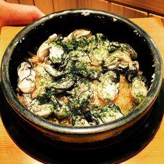 #kaiseki #omakase @ #温味 #sapporo #hokkaido #japan #食事 #oysters #steamedrice so fresh & delish #sakura00eats #workhardeatharder by sakura00eats