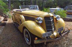 1935 Auburn 851 4-dr Convertible Phaeton