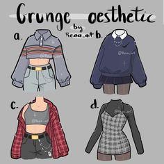 Anime Outfits, Grunge Outfits, 90s Grunge, Grunge Girl, Teen Fashion, Fashion Outfits, Classy Fashion, Party Fashion, Style Fashion