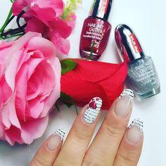 """""""Nuovo tutorial di #nailart online nel mio canale #youtube  il primo per la serie di #sanvalentino ❤️ una lettera d'amore sulle unghie ❤️ che ne pensate?…"""""""