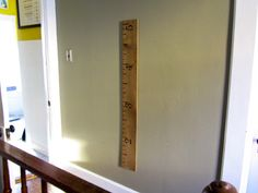 super-fun way for the kids to measure their height.