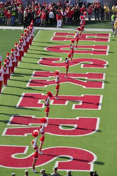 Husker Marching Band!  #GBR