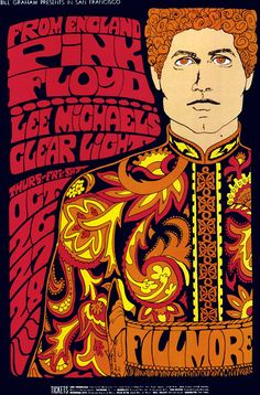 Pink Floyd in San Francisco October 1967...nearly 46 years ago....jeeeezzz.