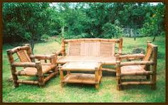 Image Result For Painting Outdoor Bamboo Furniture Outside