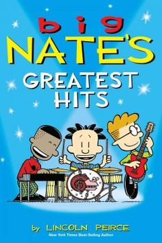 Big Nate's Greatest Hits collects three bestselling e-book only collections--Big Nate Makes a Splash, Big Nate Dibs on This Chair, and Big Nate Pray for a Fire Drill--in this supersized paperback edition.  Eleven-year-old Nate Wright is no one-hit wonder. He's the king of Monopoly, the Michelangelo of P.S. 38, and a Cheez Doodle poet extraordinaire. He's a sixth-grade superstar—at least, that's what he tells everyone—and he's going all the way to Number One. Whether he's having an imaginary…