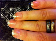 My glitter nails... cute on even short nails.