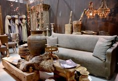 – Dread-it . Castle Stones, Beach Wood, Brown Shades, Wood Interiors, Global Design, Wabi Sabi, More Pictures, Love Seat, Sweet Home