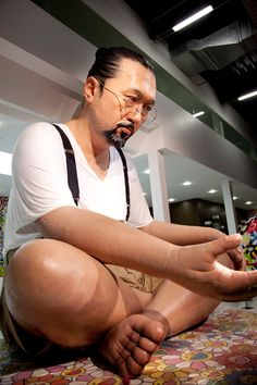 takashi murakami: ego at al-riwaq exhibition hall, doha, qatar