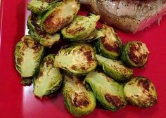 Brussels Sprouts - Air Fryer Recipes at http://thehealthykitchenshop.com