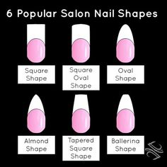 """#TAMMYTAYLOR you know she knows shapes! (Ballerina is also known as """"Coffin"""") My favorite is almond! What's yours ?"""