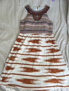 Lucky Brand Embellished Sleeveless Dress Women's Sz S* in Clothing, Shoes & Accessories, Women's Clothing, Dresses | eBay