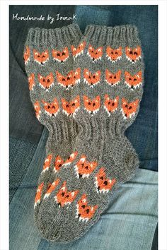 Kettusukat Crochet Socks, Knit Mittens, Knitting Socks, Baby Knitting, Knitted Hats, Knit Crochet, Knitting Projects, Knitting Patterns, Knit Art