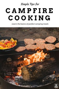 Learn campfire cooking basics.