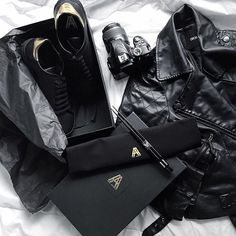 Was hardly a sneaker advocate until @axelarigato_women stepped into my life 〰 working up some black, more black and a hint of gold works, with this beautè  #watchthisspace   #socflatlay #flatlay #flatlay #flatlayapp #flatlays www.theflatlay.com