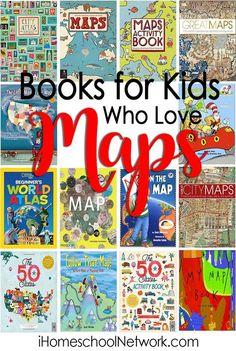 15 Books for Kids Who Love Maps • books about geography • literature • picture books • reading