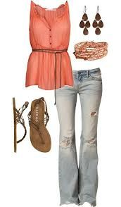A cute spring outfit that I love!